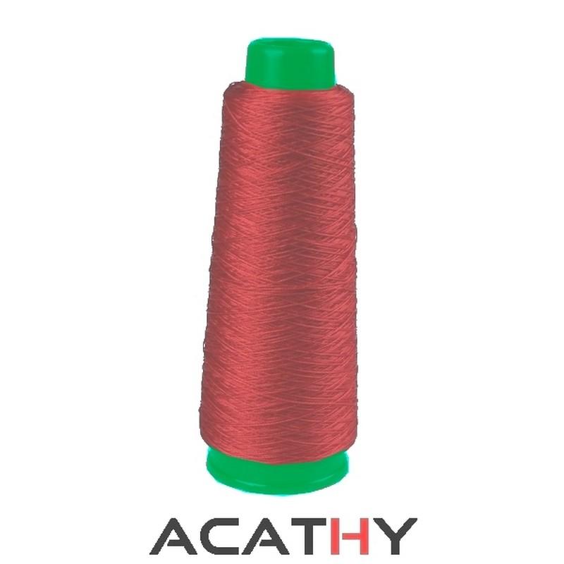 Accroche sac pliable COUTURE marron