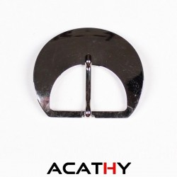 Boucle ceinture nickel 34 mm